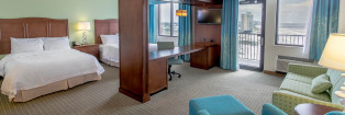 Sideview-Double-Queen-Studio-Hampton-Inn-and-Suites-Orange-Beach-AL