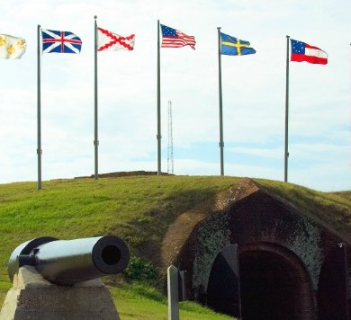 historic fort morgan alabama